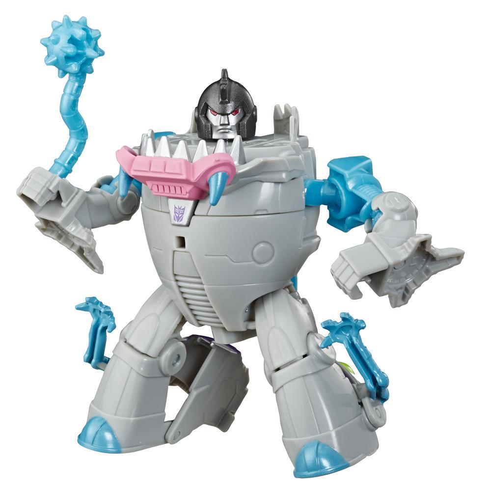 Juguetes Transformers - Figura de acción de Gnaw Cyberverse Action Attackers clase guerrero