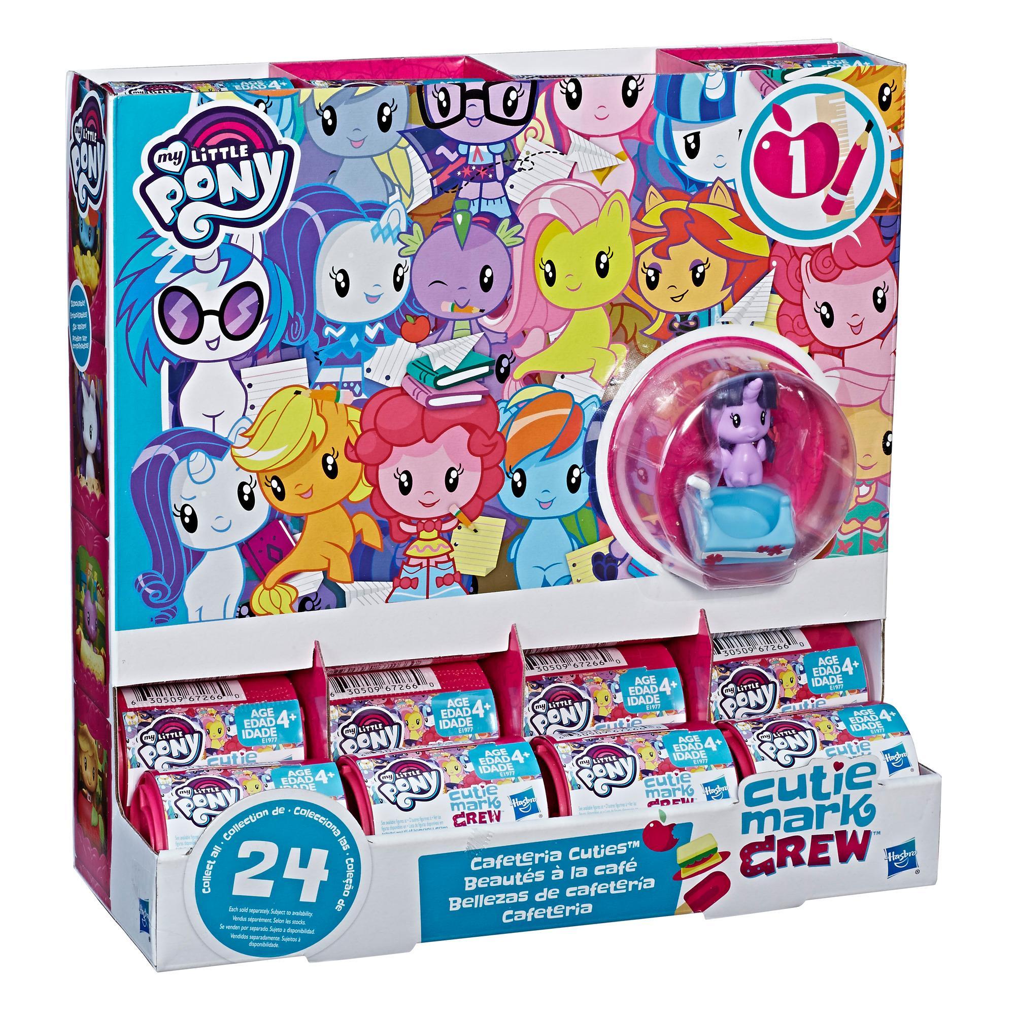 My Little Pony Cutie Mark Crew Serie 1 - Bolsitas sorpresa Bellezas de cafetería
