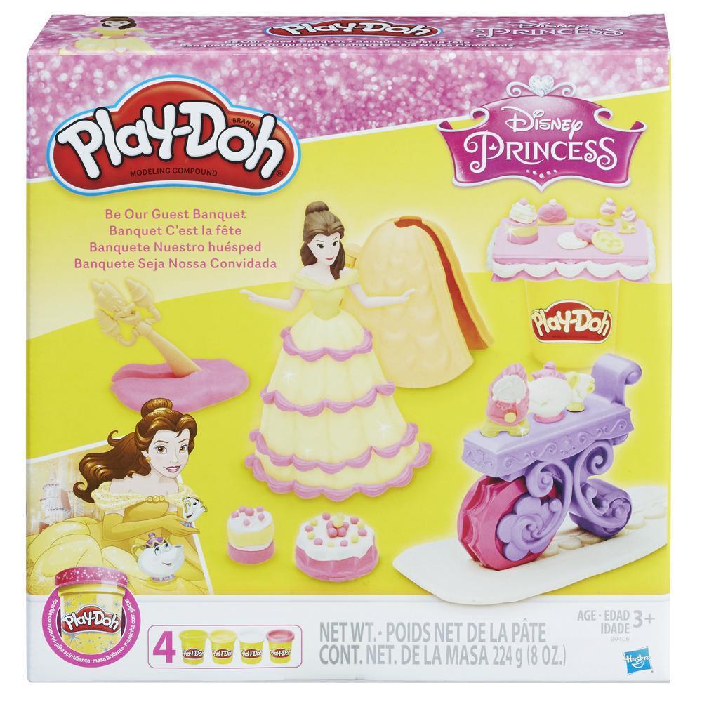 Play-Doh Banquete de Bella de Princesas Disney