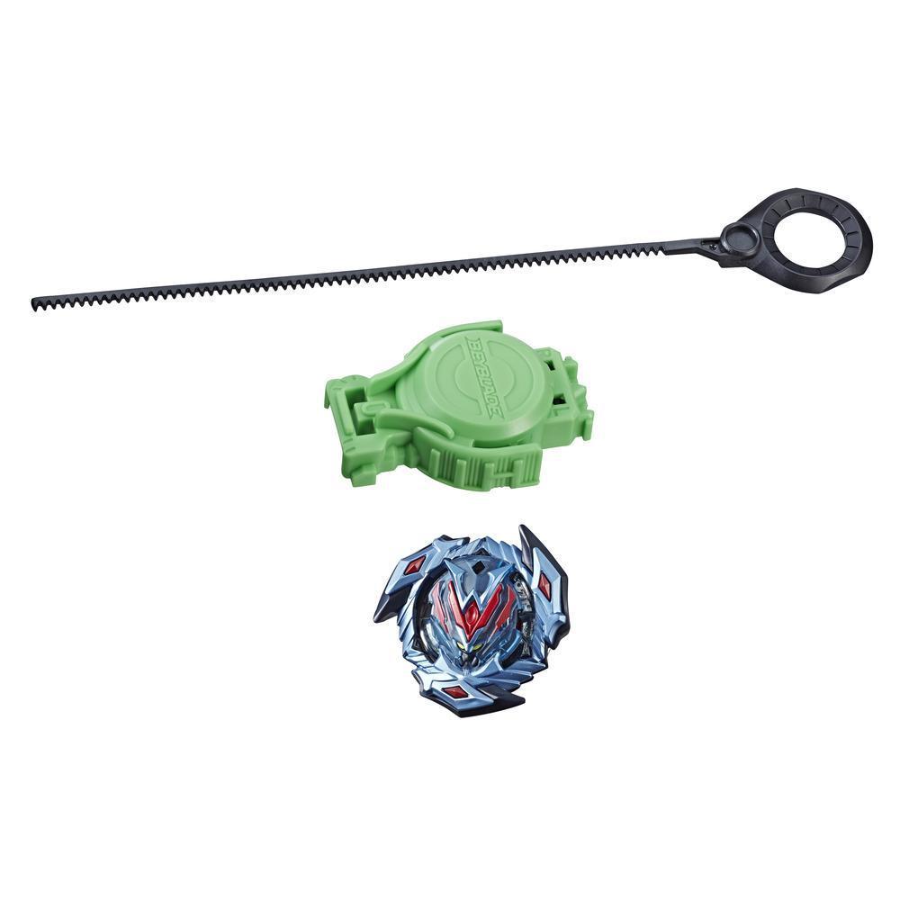 Beyblade Burst Turbo Slingshock - Empaque de inicio - Wonder Valyryek V4 - Top y lanzador