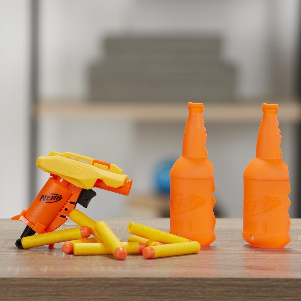 Set de puntería Stinger SD-1 -- Set Nerf Alpha Strike de 11 piezas incluye 1 lanzador de juguete, 2 piezas de objetivos y 8 dardos Nerf Elite oficiales para niños, adolescentes y adultos