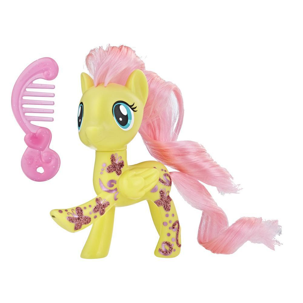 My Little Pony Fluttershy con diseño brillante