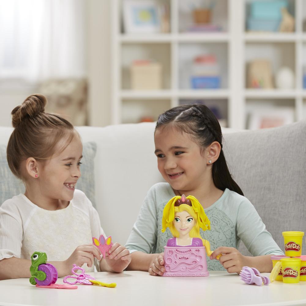 Play-Doh Salón de belleza con la princesa Disney Rapunzel