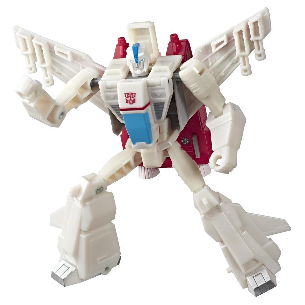 Juguetes Transformers - Figura de acción de Jetfire Action Attackers clase guerrero