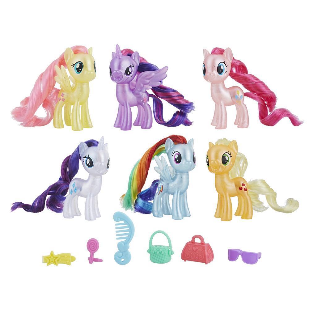 My Little Pony El mejor regalo - Set de celebración de las 6 amigas