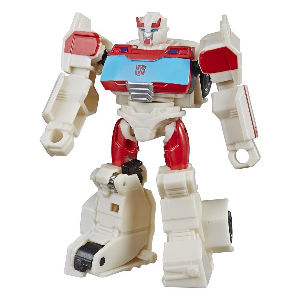 Transformers Cyberverse Action Attackers - Autobot Ratchet clase explorador - Figura de acción
