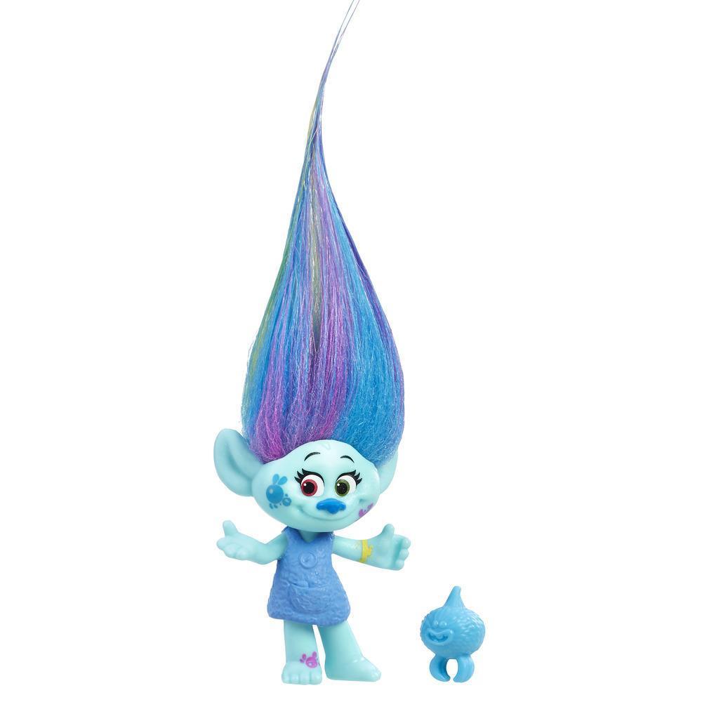 DreamWorks Trolls Harper - Figura de colección con criatura