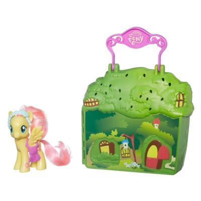 Juego Cabaña de Fluttershy My Little Pony La magia de la amistad