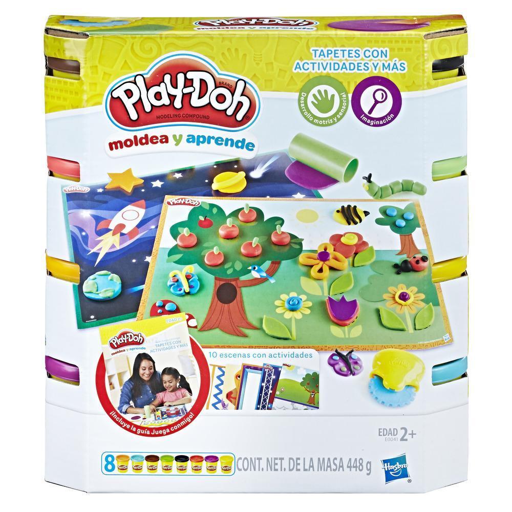 Play-Doh Moldea y aprende - Tapetes de actividades y más