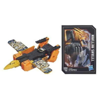 Transformers Generations Titans Return - Autobot Stripes clase leyendas
