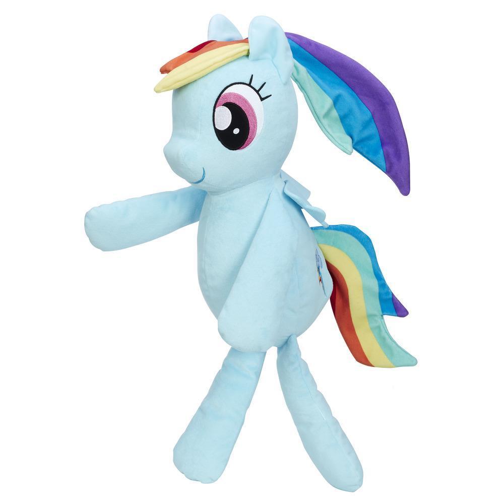My Little Pony La magia de la amistad - Peluche para abrazar de Rainbow Dash