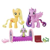 My Little Pony Empaque de amistad - Princess Twilight Sparkle y Applejack