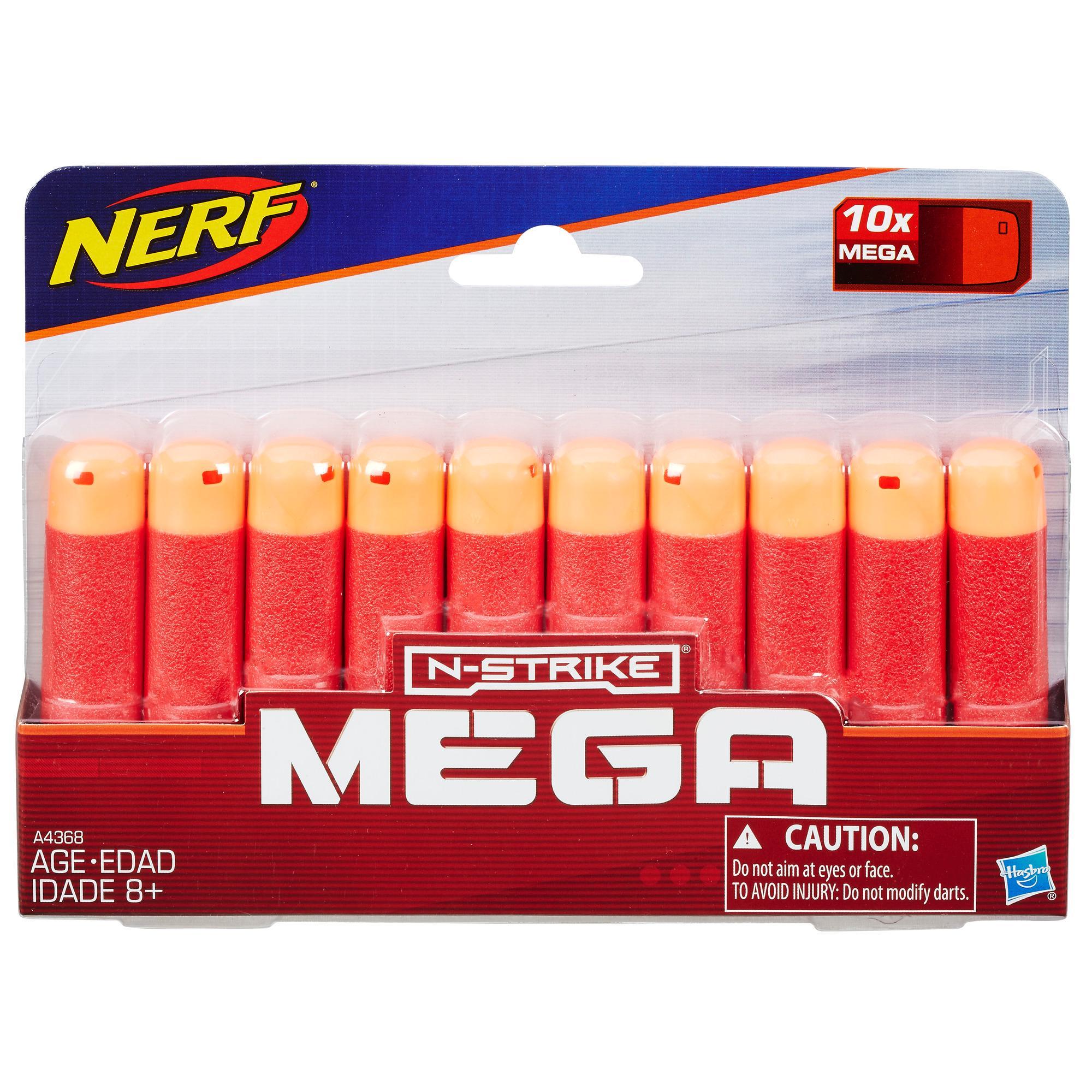 Paquete de repuesto de dardos Mega Nerf N-Strike Elite