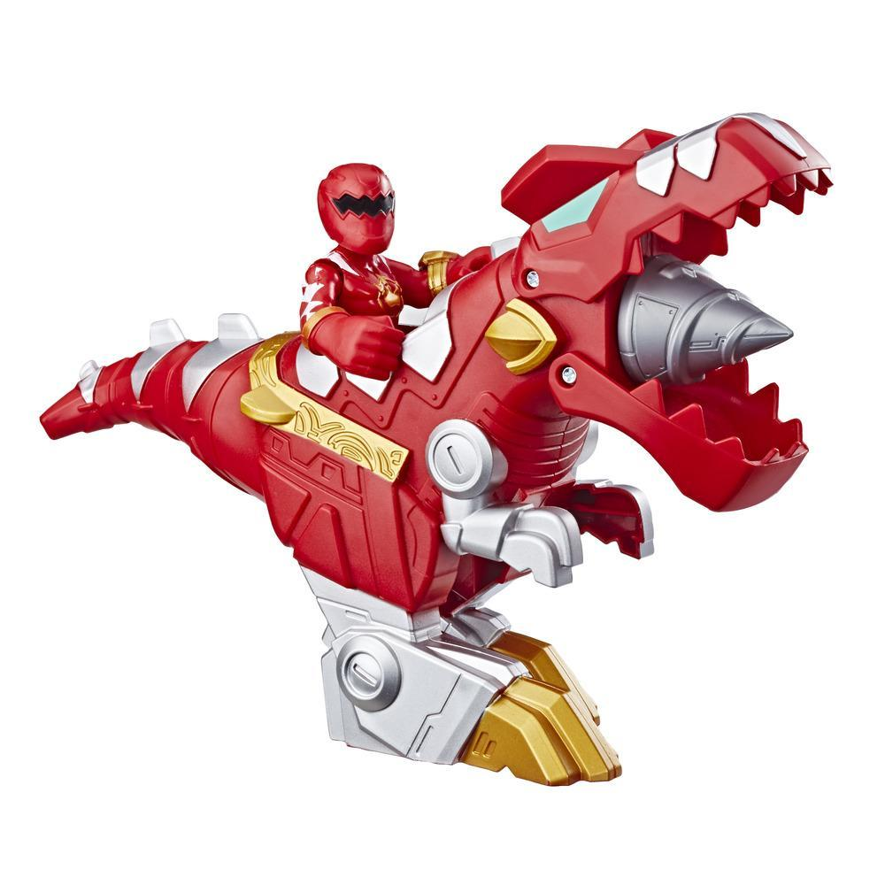 Playskool Heroes Power Rangers Red Ranger y T-Rex Zord