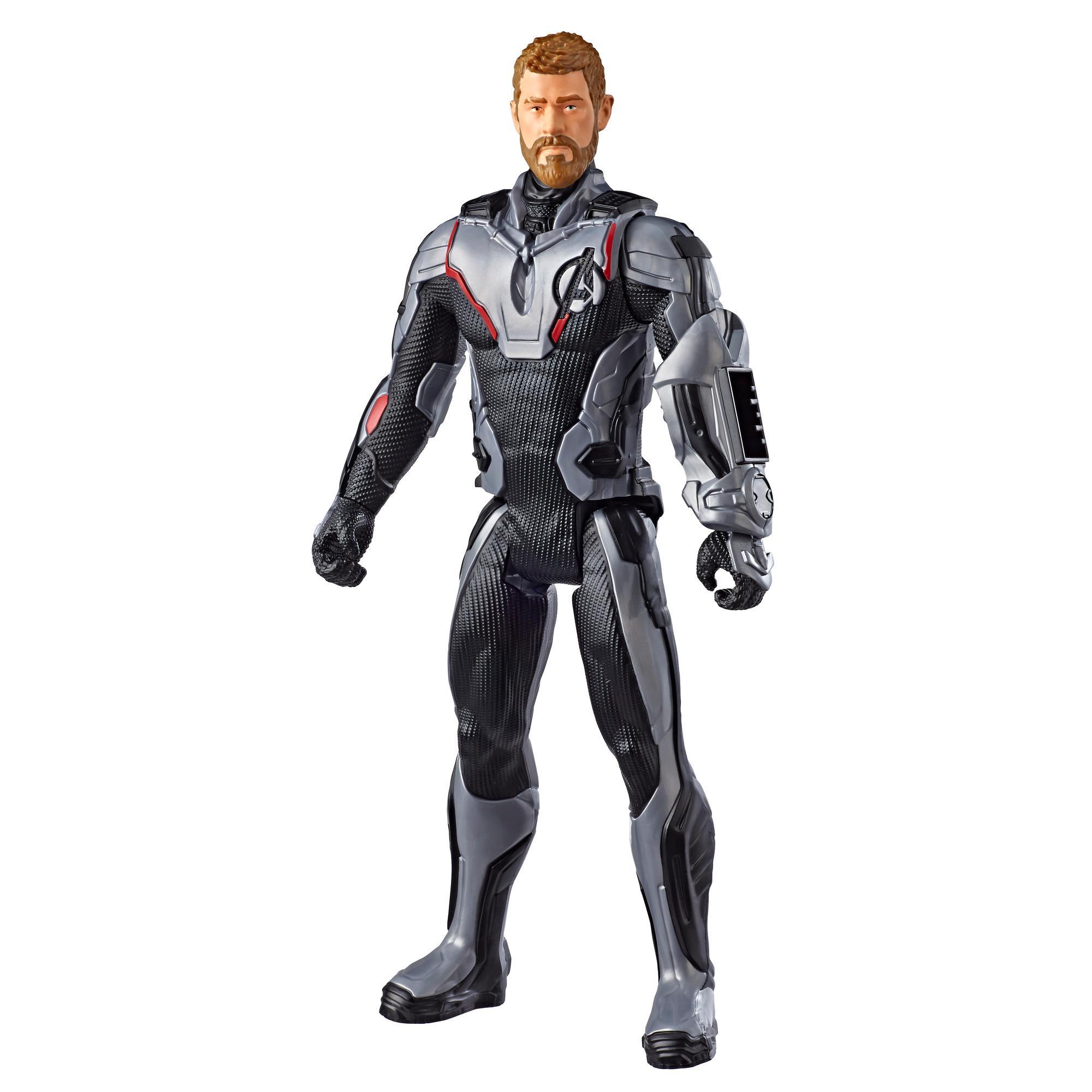 Marvel Avengers: Endgame Titan Hero Series - Figura de superhéroe Thor de 30 cm con puerto para Titan Hero Power FX