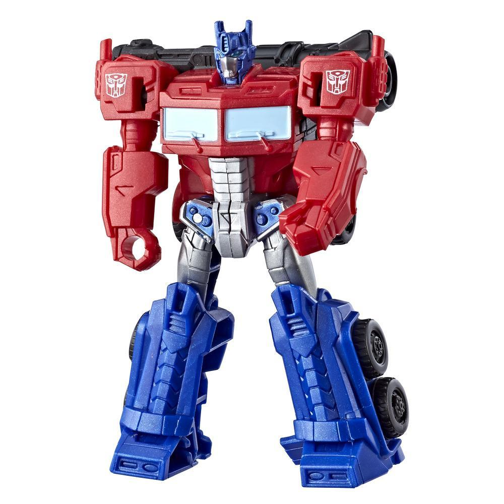 Transformers Cyberverse - Optimus Prime clase explorador