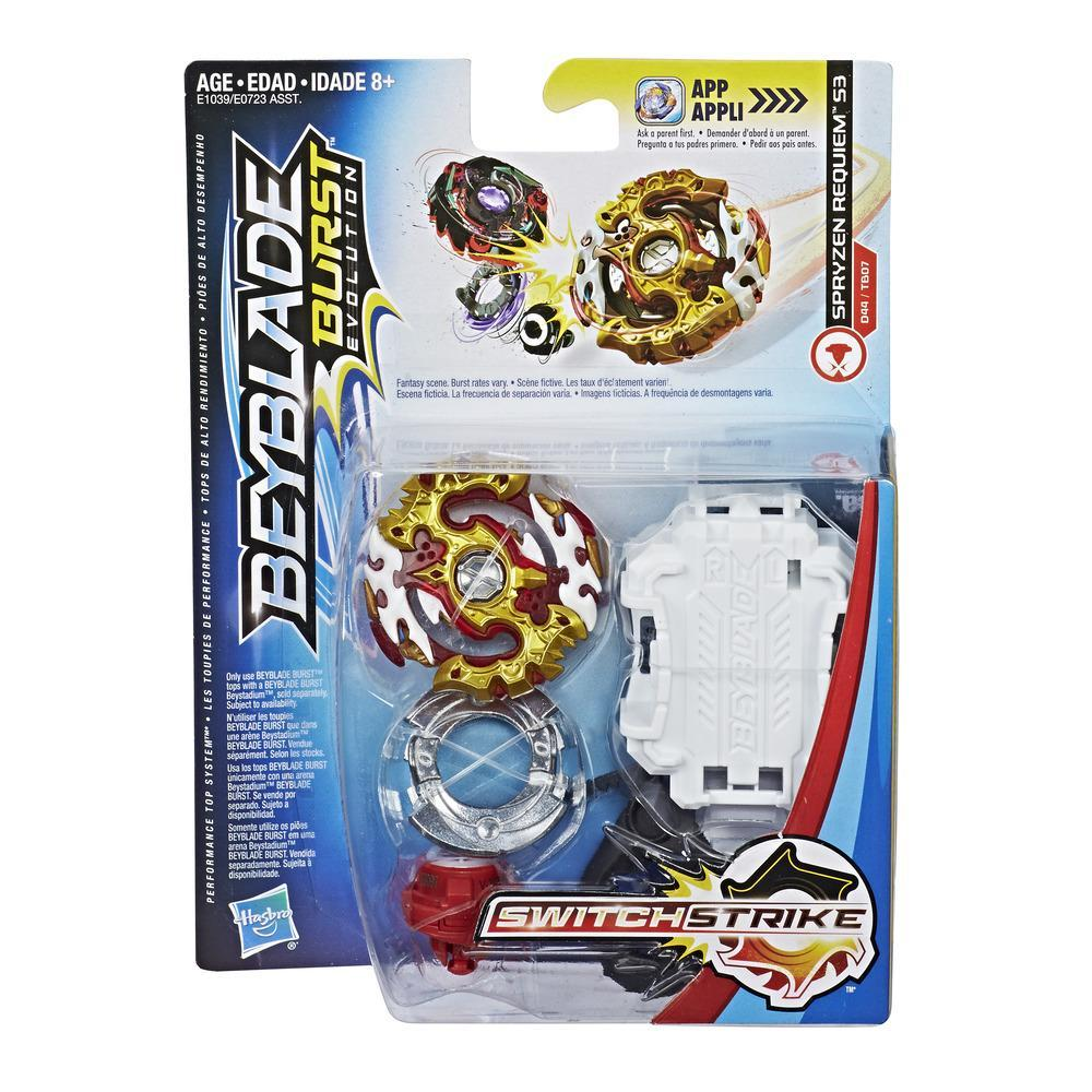Beyblade Burst Evolution SwitchStrike - Empaque de inicio - Spryzen Requiem S3
