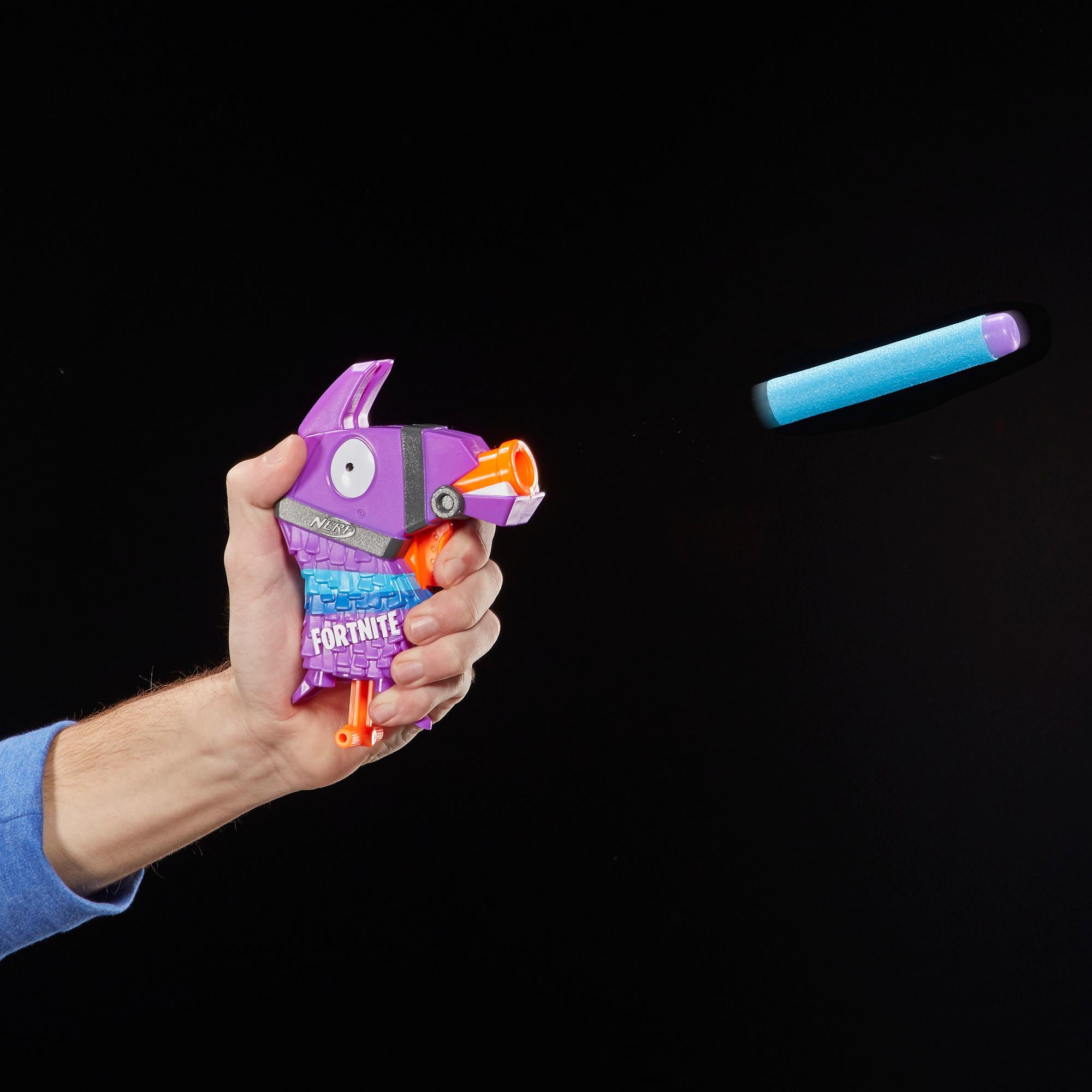 Lanzadardos de juguete Llama Nerf MicroShots