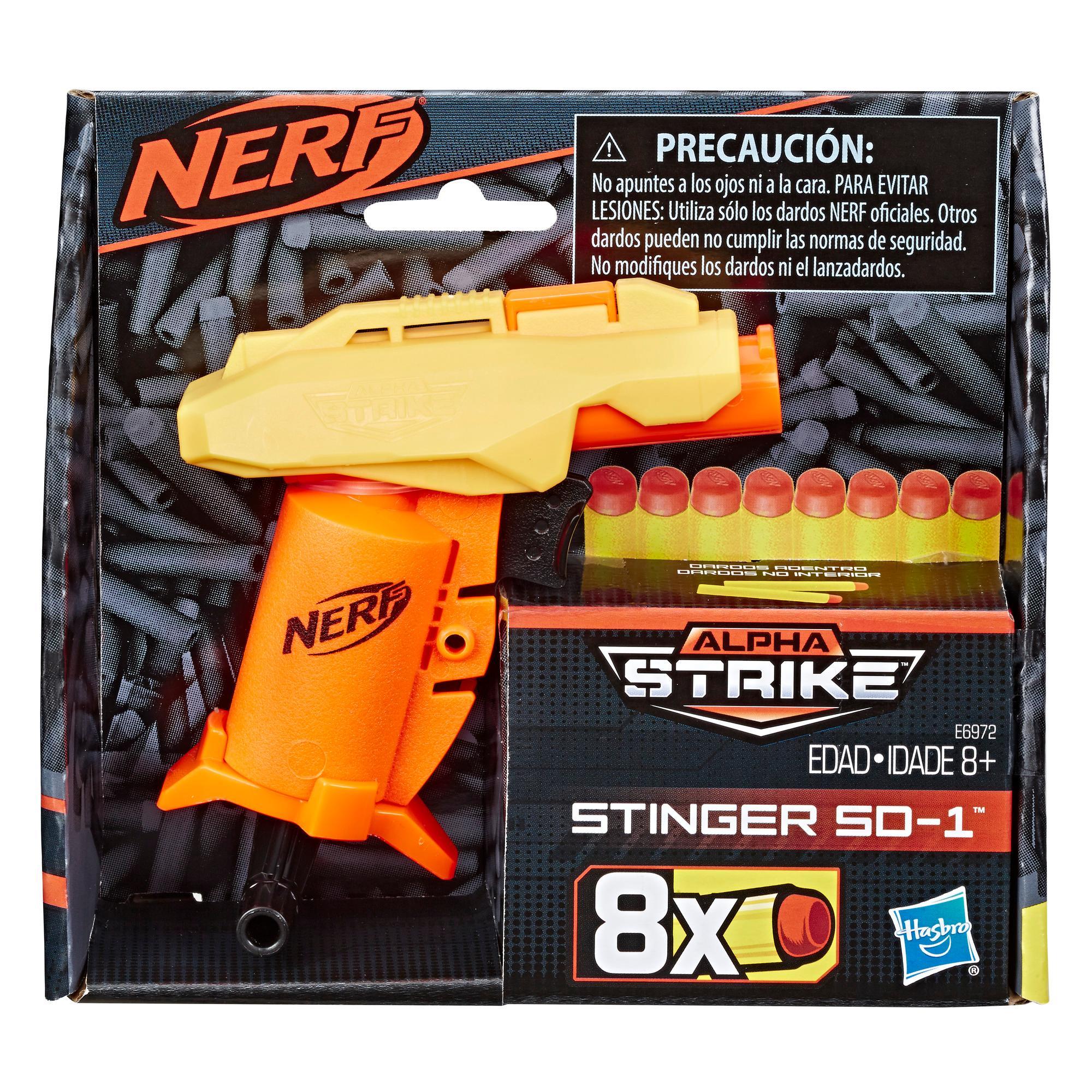 Lanzador de juguete Stinger SD-1 Nerf Alpha Strike
