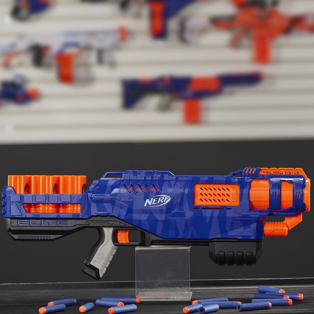 Lanzador de juguete Trilogy DS-15 N-Strike Elite