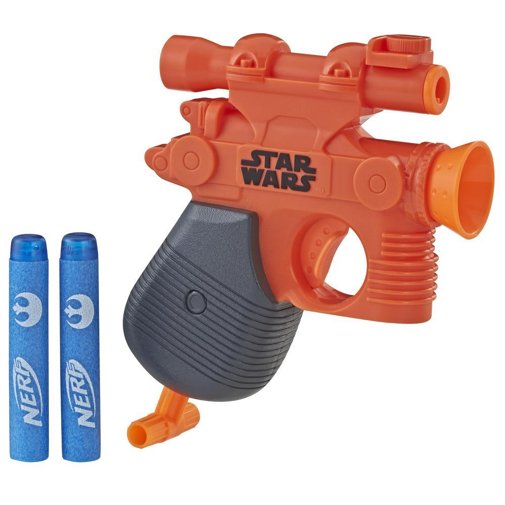 Nerf MicroShots Star Wars - Pistoláser de Han Solo
