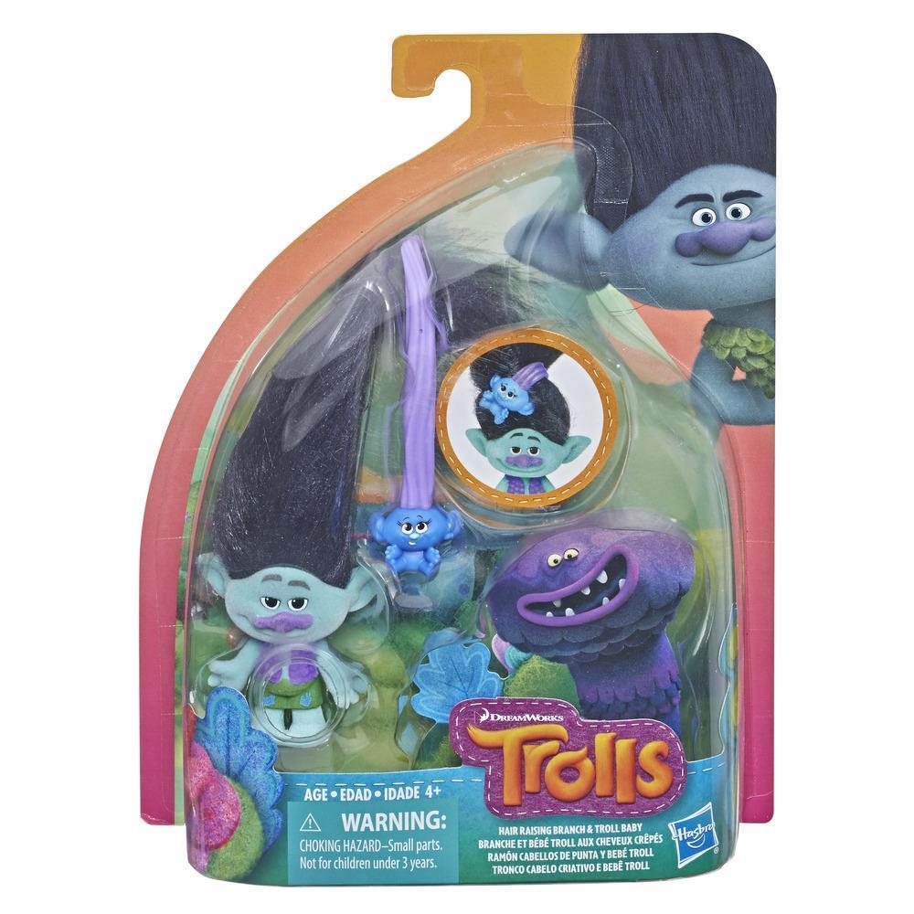 DreamWorks Trolls  - Ramón Cabellos de punta y bebé Troll