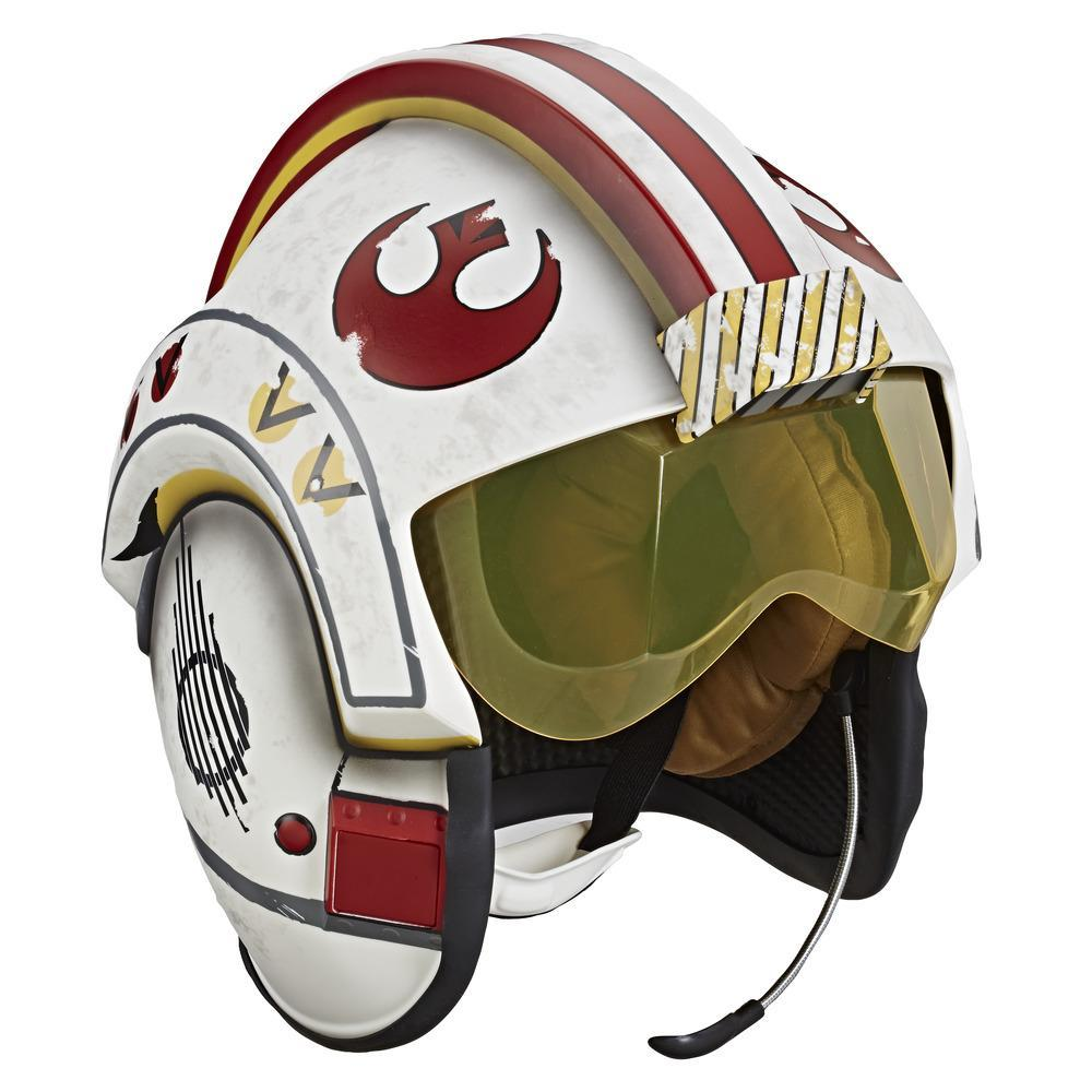 Star Wars The Black Series - Luke Skywalker - Casco simulador de combate - Réplica electrónica premium