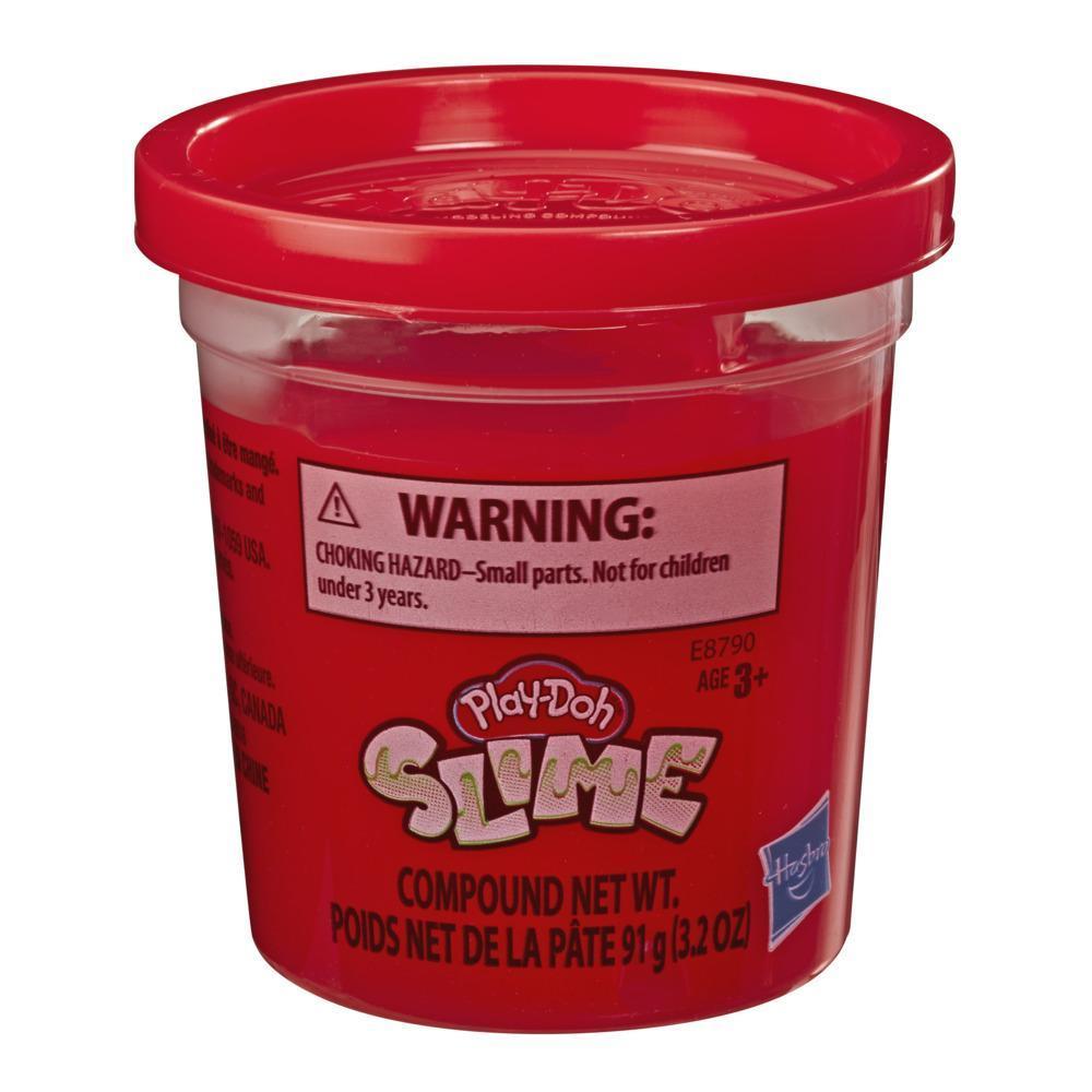 Play-Doh - Slime - Lata individual de 90,5 gramos de masa viscosa roja para niños de 3 años en adelante
