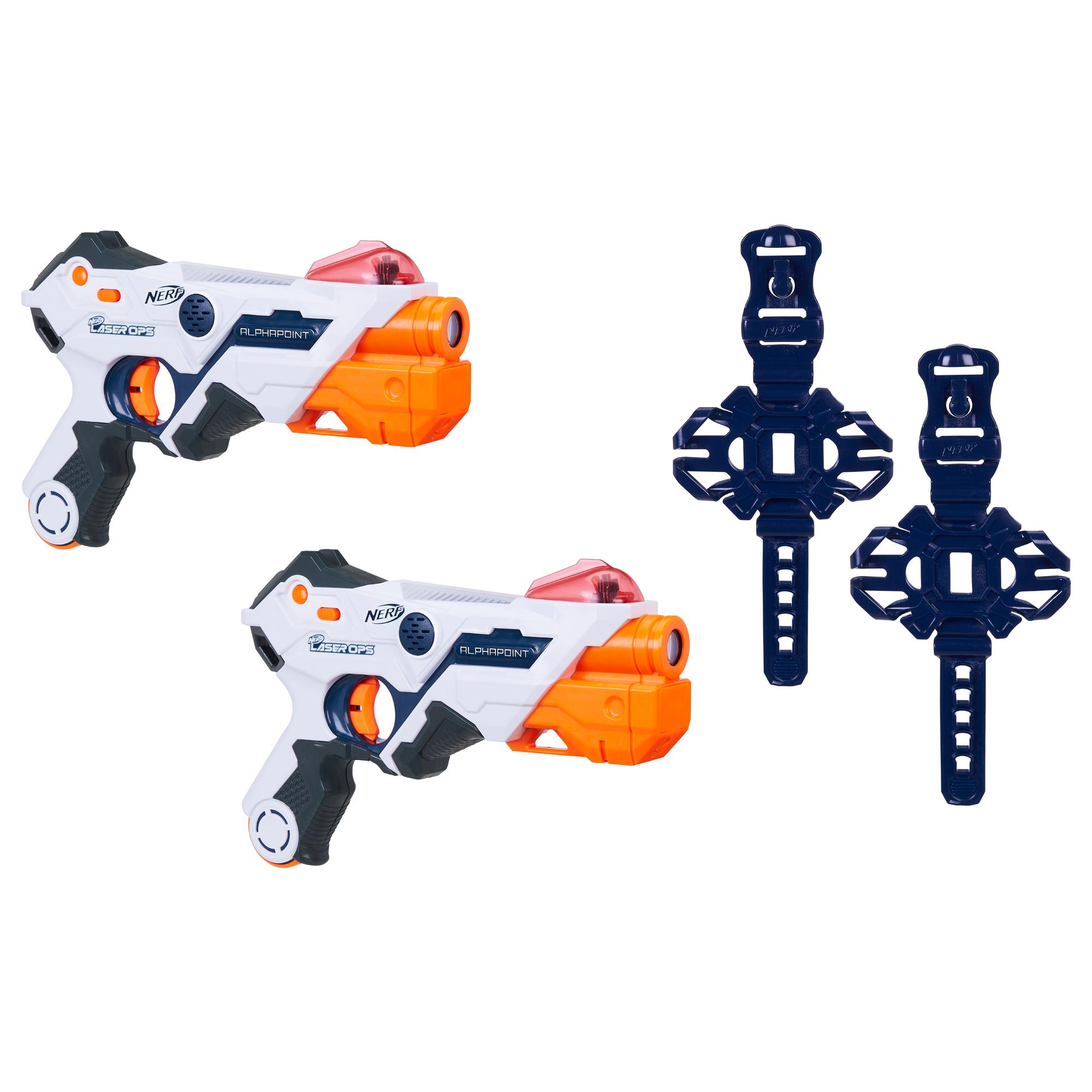 Nerf Laser Ops AlphaPoint Pro - 2 lanzadores