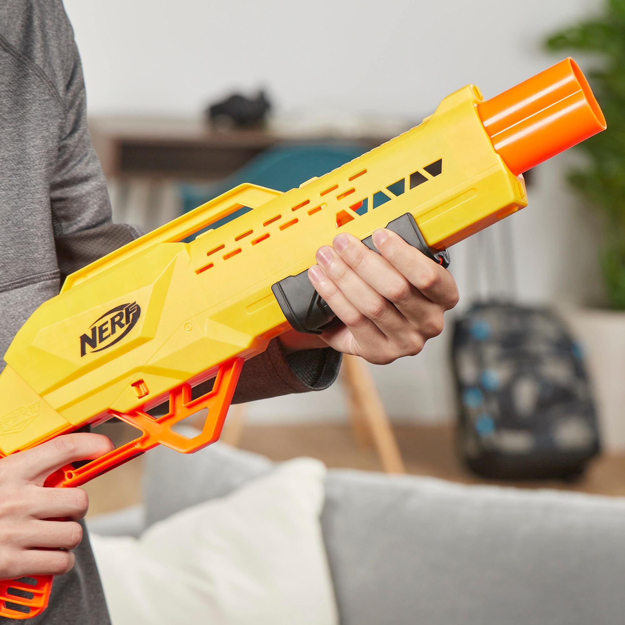 Lanzador de juguete Tiger DB-2 Nerf Alpha Strike - Incluye 12 dardos Nerf Elite oficiales - Para niños, adolescentes y adultos