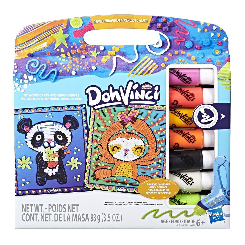 Play-Doh DohVinci Repuesto de Mis obras de arte - Animal