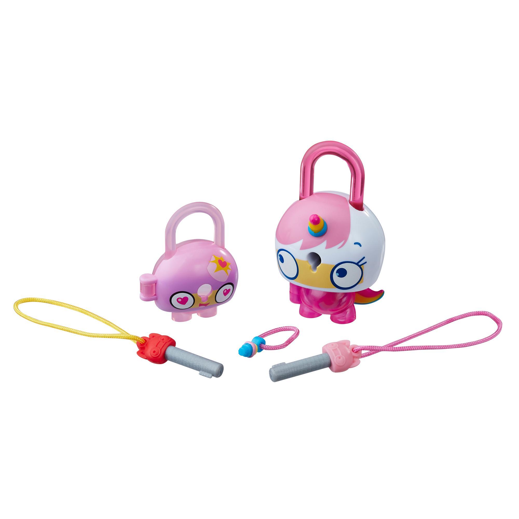 Lock Stars Gato-unicornio rosa - Serie 1