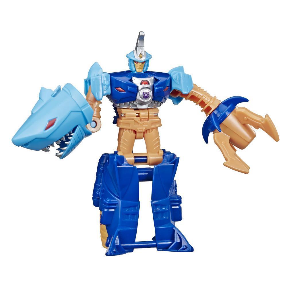 Juguetes Transformers Cyberverse Action Attackers: Cambiador de 1 paso - Figura de acción de Skybyte