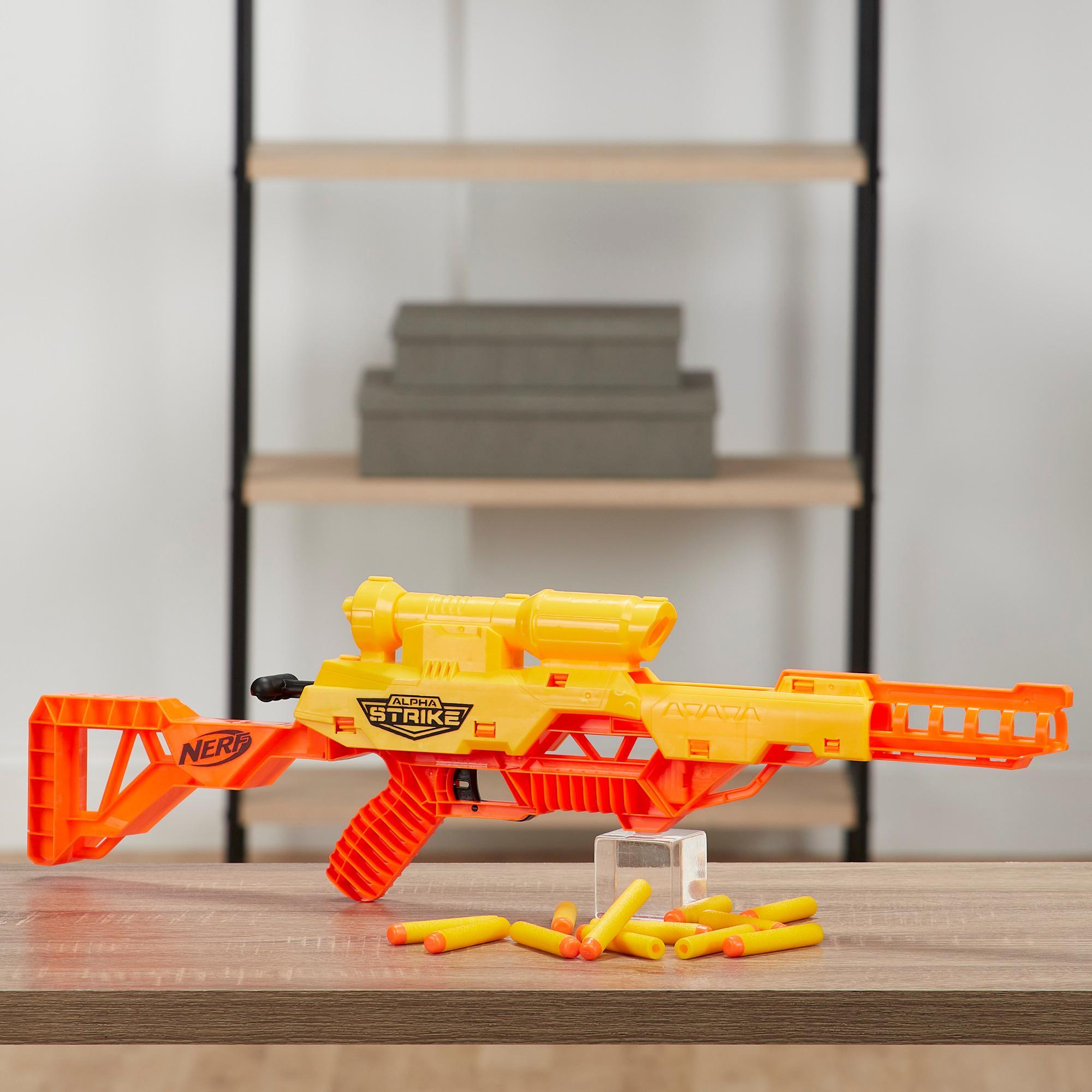 Lanzador de juguete Wolf LR-1 Nerf Alpha Strike