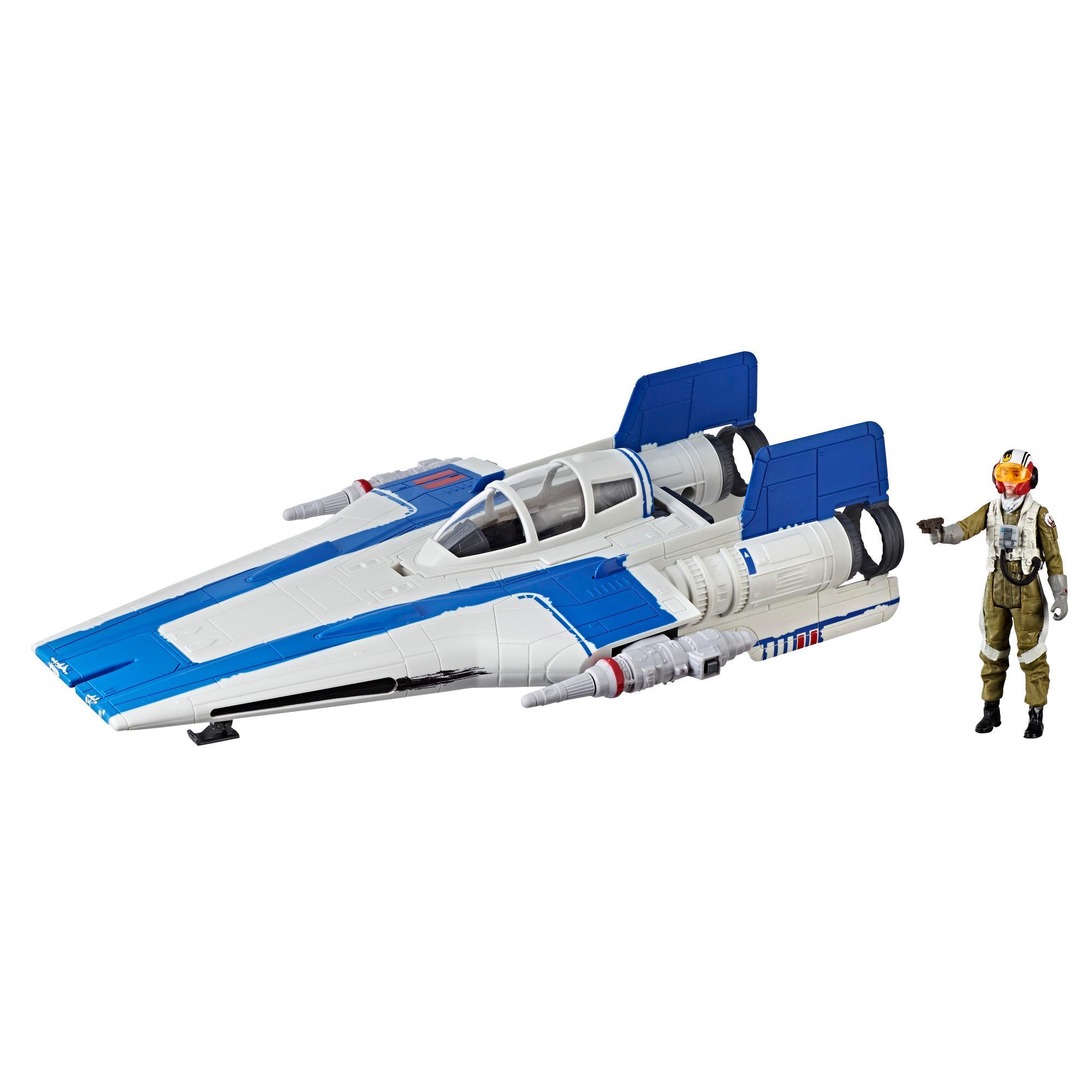Star Wars Force Link 2.0 - Caza A-wing de la Resistencia y piloto de la Resistencia Tallie