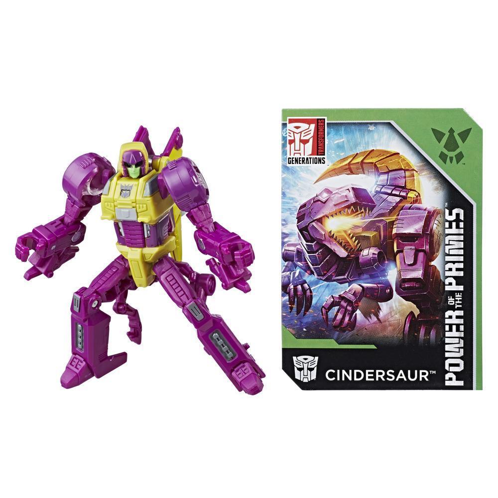 Transformers: Generations -  Poder de los Primes - clase leyendas - Cindersaur