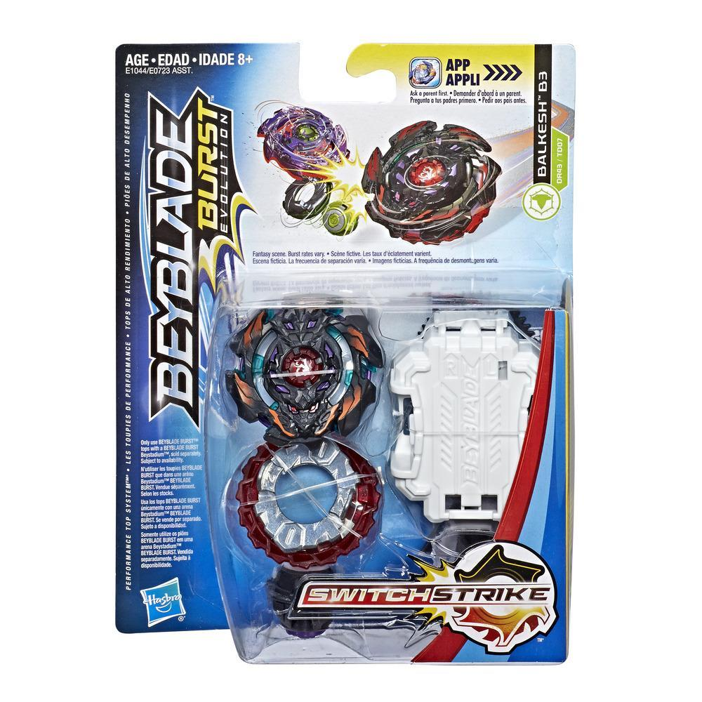 Beyblade Burst Evolution SwitchStrike - Empaque de inicio - Balkesh B3