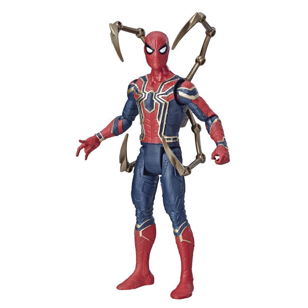 Marvel Avengers Iron Spider - Figura de acción de juguete de superhéroe Marvel a escala de 15 cm