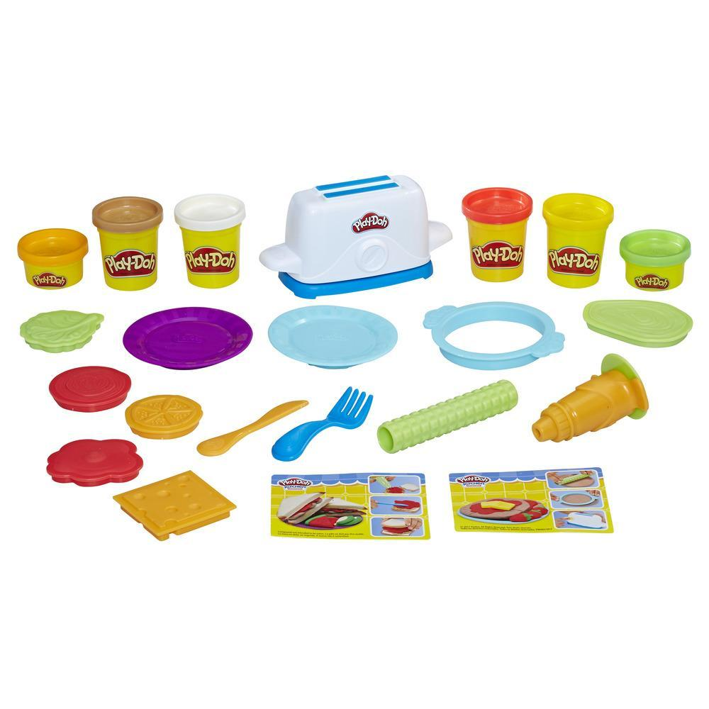 Play-Doh Kitchen Creations - Tostadora divertida
