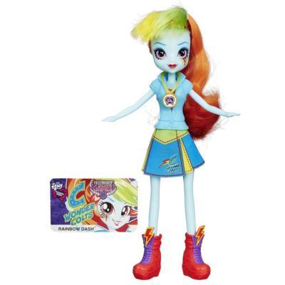 Muñeca My Little Pony Equestria Girls Rainbow Dash Friendship Games
