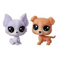 Littlest Pet Shop Mini 2-Pack (pitbull.papillon)