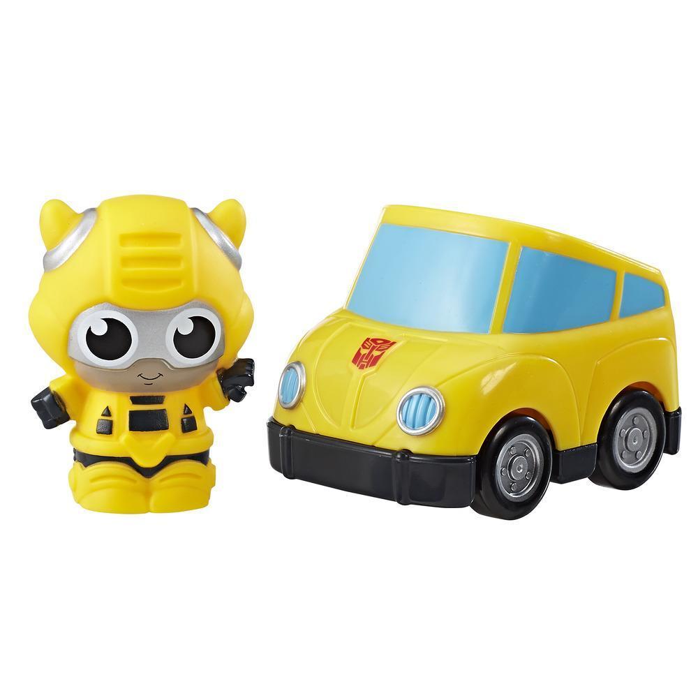 Playskool Friends Transformers - Figura Bumblebee Vehículo con sorpresa