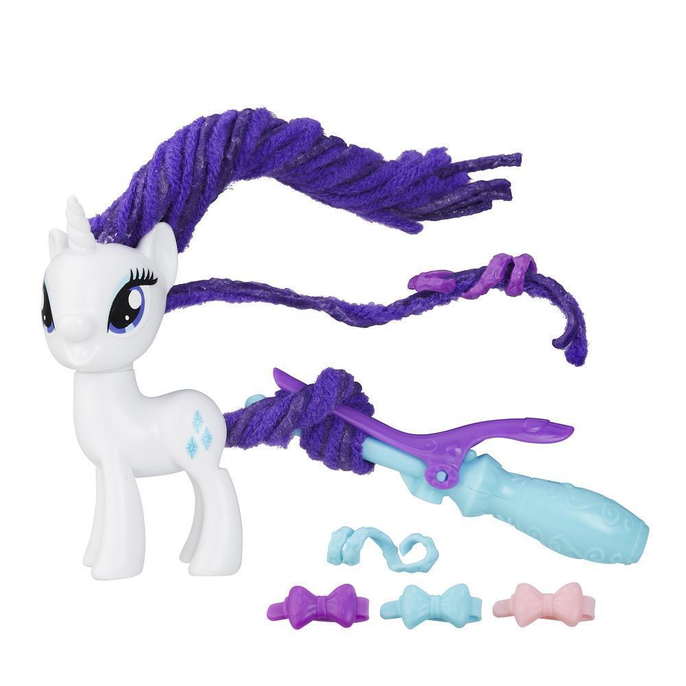 My Little Pony Rizos estilizados de Rarity