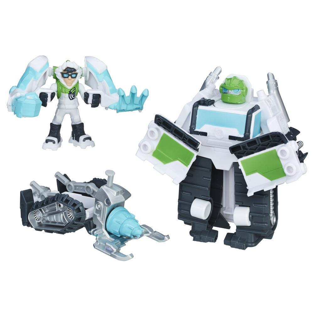 Playskool Heroes Transformers Rescue Bots - Boulder Rescate ártico