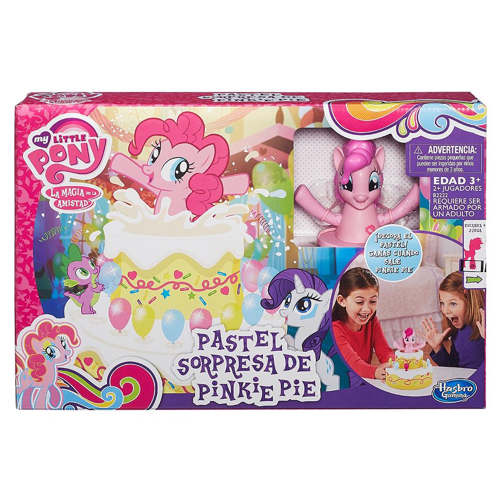 Juego Pastel sorpresa de Pinkie Pie de My Little Pony