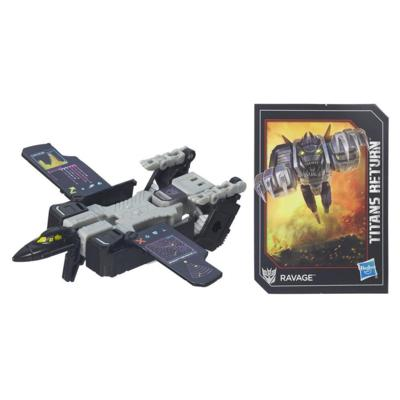 Transformers Generations Titans Return - Decepticon Ravage clase leyendas