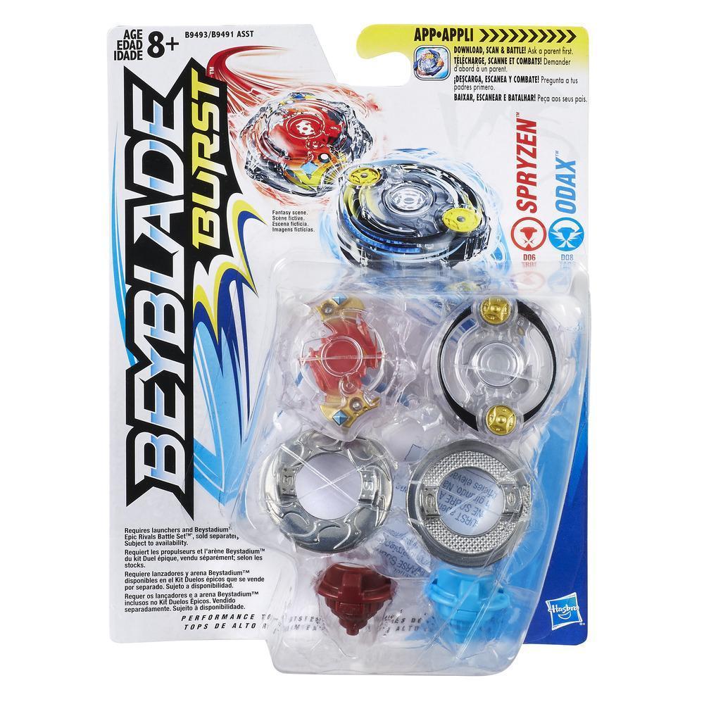 Beyblade Burst - Dúo Beyblade - Spryzen & Odax