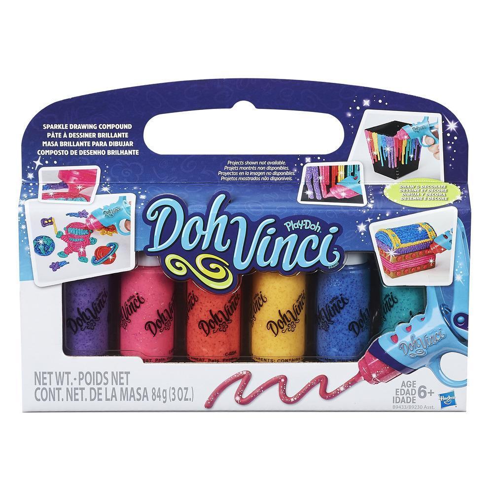 DohVinci Deco Pop Specialty 6-Pack - Sparkle Drawing Compound