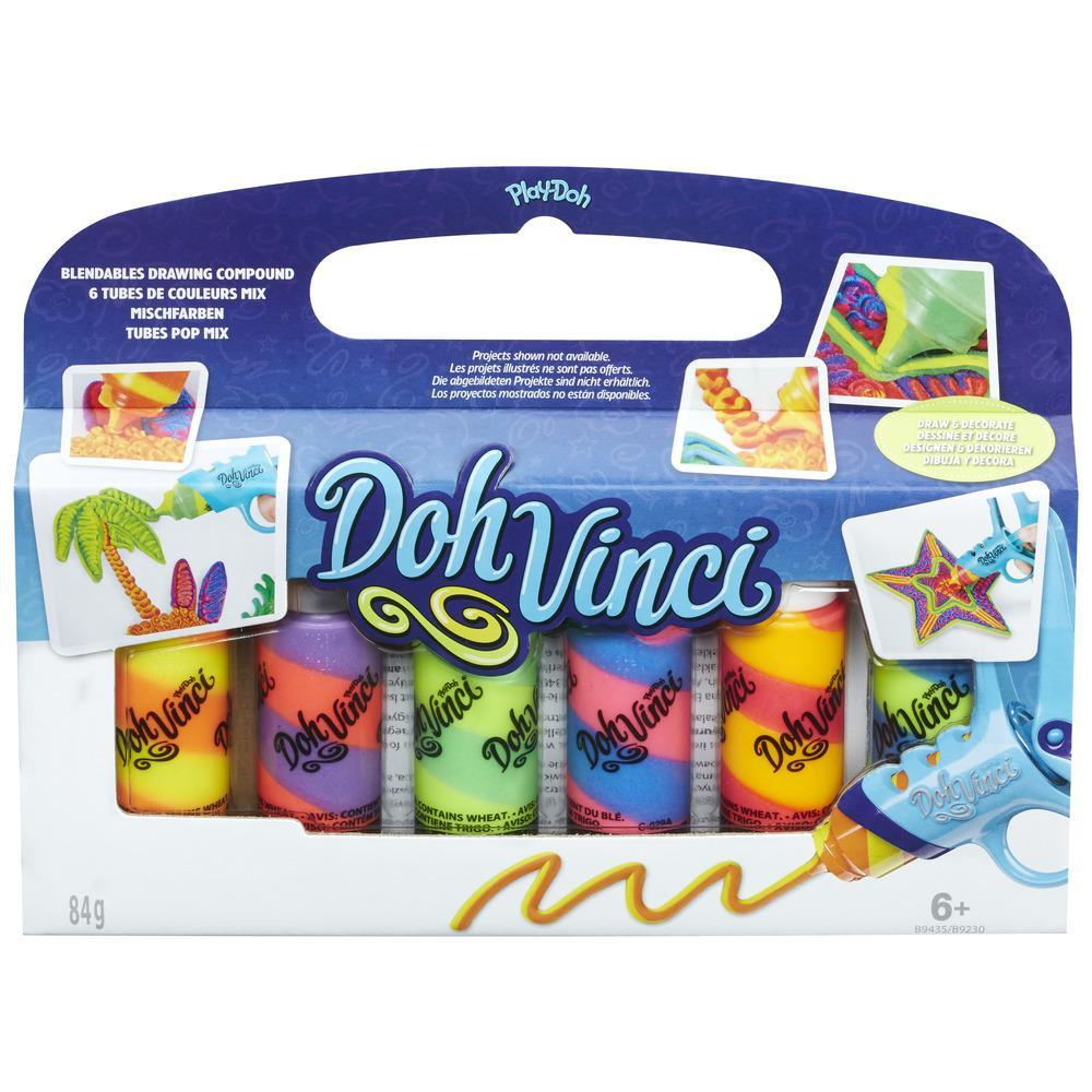 DohVinci Deco Pop Specialty 6-Pack - Blendables Drawing Compound