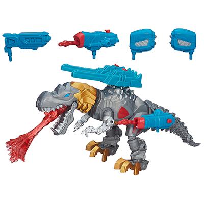 Figura de Grimlock electrónico de Transformers Hero Mashers